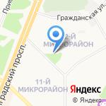 Полезный на карте Ангарска