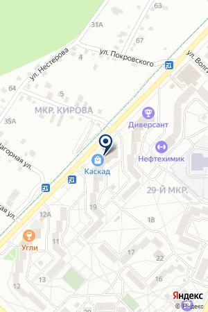 Акс Студия на карте Ангарска