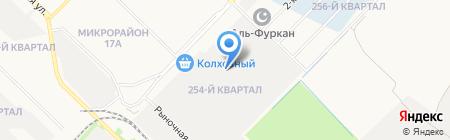 Чанго на карте Ангарска