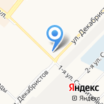 АвтоЛидер на карте Ангарска