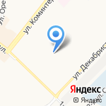 Кругозор на карте Ангарска