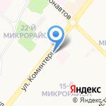 Адресок на карте Ангарска
