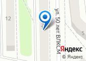 Азимут-38 на карте