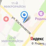 Клиника на карте Ангарска