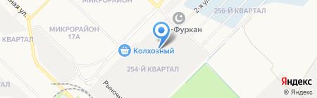 Содружество на карте Ангарска