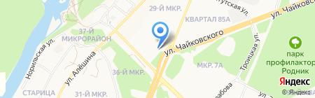 Nargilia Angarsk на карте Ангарска