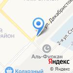 Покрышкин на карте Ангарска