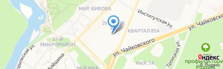 Горизонт на карте Ангарска