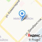 Физкультурно-Оздоровительный Комплекс на карте Ангарска