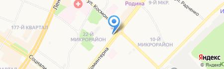 Rieker на карте Ангарска
