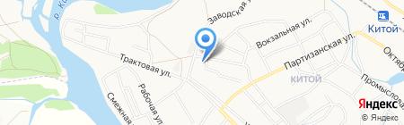 Союз-трейд на карте Ангарска