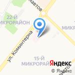 Поликлиника на карте Ангарска