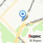 Байт на карте Ангарска