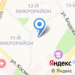 Троя на карте Ангарска