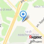 Иркутскнефтепродукт на карте Ангарска