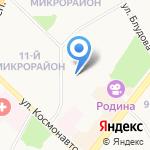 Эстет на карте Ангарска
