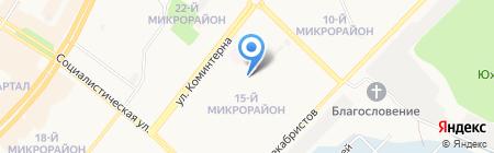 Социально-реабилитационный центр для несовершеннолетних г. Ангарска на карте Ангарска