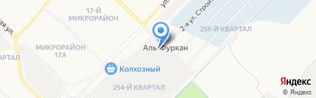 Метрополь-Снаб на карте Ангарска