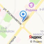 Кольт на карте Ангарска