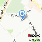 УК ЖЭУ-6 на карте Ангарска