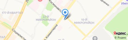 Мирра на карте Ангарска