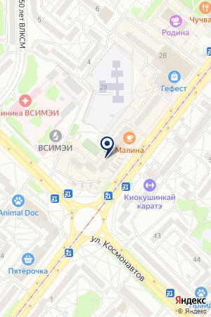 Айвити на карте Ангарска