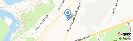 Сим-Сим на карте Ангарска