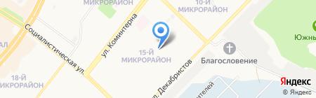 Монополия на карте Ангарска