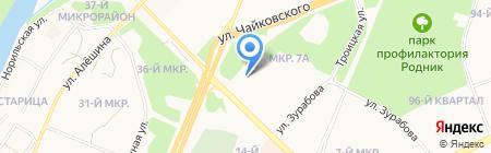 Баланс-Актив на карте Ангарска