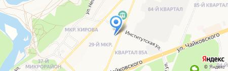Золотая рыбка - Golden fish-ка на карте Ангарска