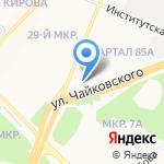 Связьтранзит на карте Ангарска
