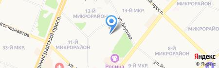 Детский сад №117 на карте Ангарска