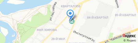 ЭЛЕКТРОН на карте Ангарска