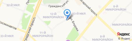 Art на карте Ангарска