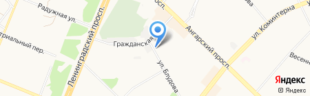 Эллада на карте Ангарска