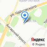Ангарский районный отдел судебных приставов на карте Ангарска