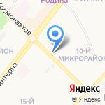 Будуар на карте Ангарска