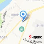 Владлена на карте Ангарска