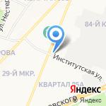 Синергия на карте Ангарска