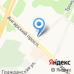 Мир цветов на карте Ангарска