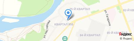 Адвокатский кабинет Ким Д.Т. на карте Ангарска