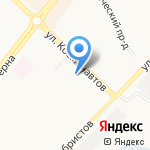 Пожарная часть №10 на карте Ангарска