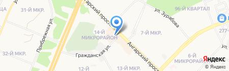 ЭлектроКом на карте Ангарска