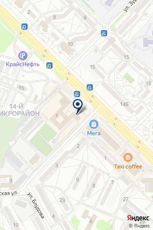 Рекламный центр на карте Ангарска