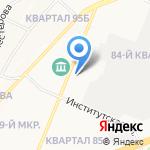 Фонд поддержки малого предпринимательства г. Ангарска на карте Ангарска
