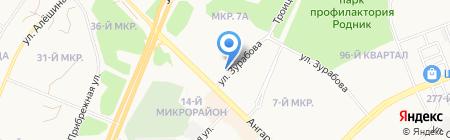 Аудитор на карте Ангарска