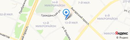 Ангарский областной специализированный дом ребенка на карте Ангарска