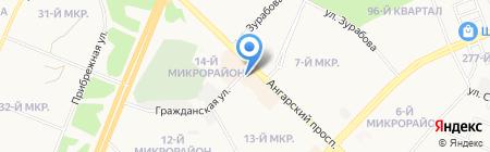 Модные детки на карте Ангарска
