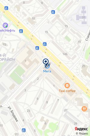 Deuslin на карте Ангарска