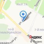 Бриз на карте Ангарска